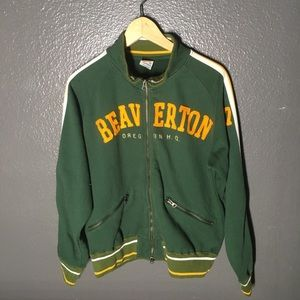 Vintage 90s Nike Beaverton, Oregon Track Jacket